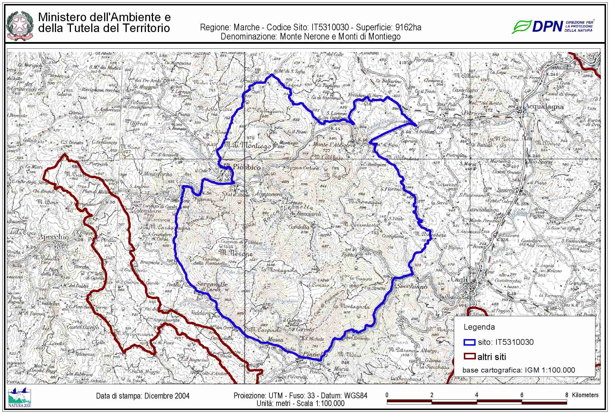 Litorale Marche Cartina.Forum Caccia E Pesca Mappe Zps Marche